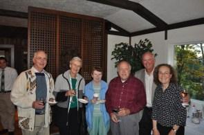 Left-right: Warren and Nickie Askov; Carol Mumma; Ralph Mumma, MNC Director Emeritus; Blake Gall, MNC Director; Linda Gall