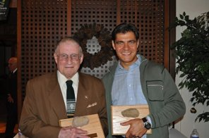 Tom Smyth and Chip Kogelmann (son of Willy Kogelmann, 1st Friend of the Mountain awardee)